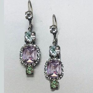 Sorrelli Lt. Amethyst Pastel Dangle Earring, NWT